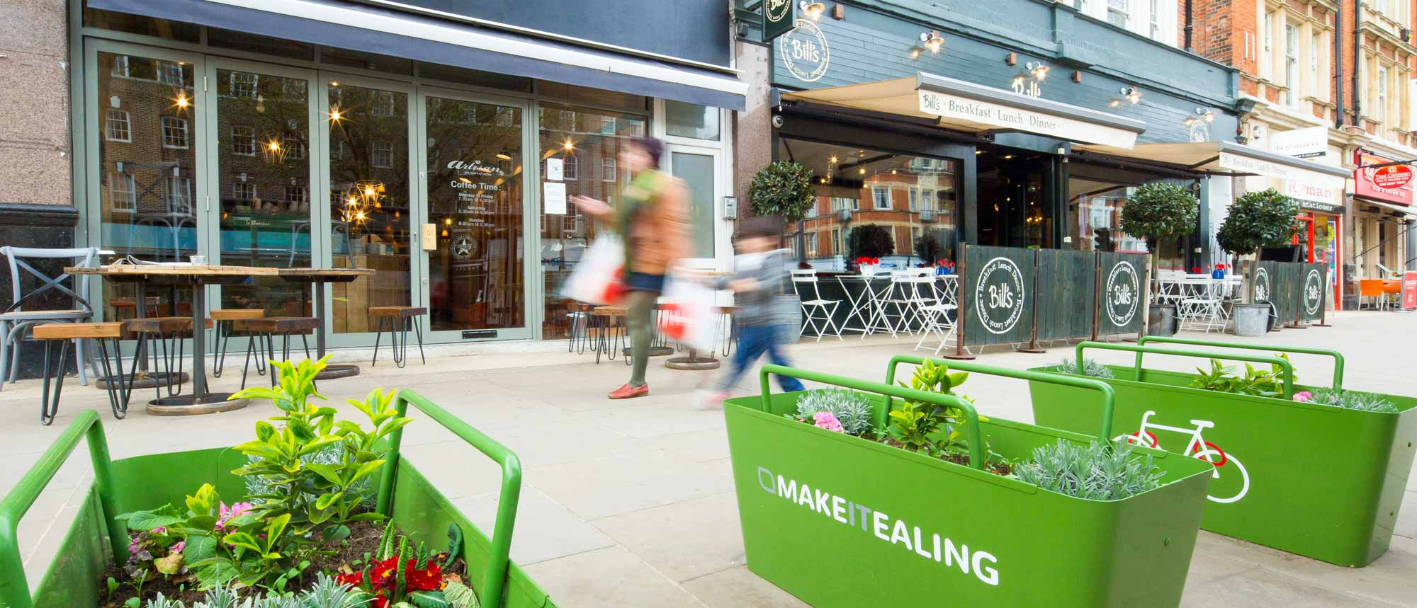 Make it Ealing flower baskets