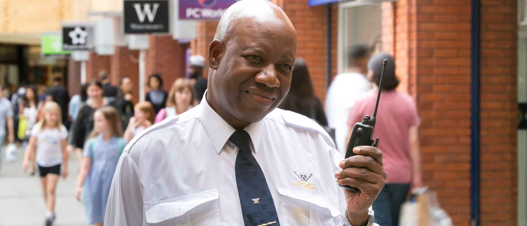 Ealing security officer