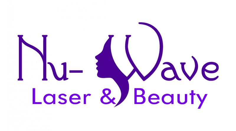 Logo saying Nu-Wave Laser & Beauty