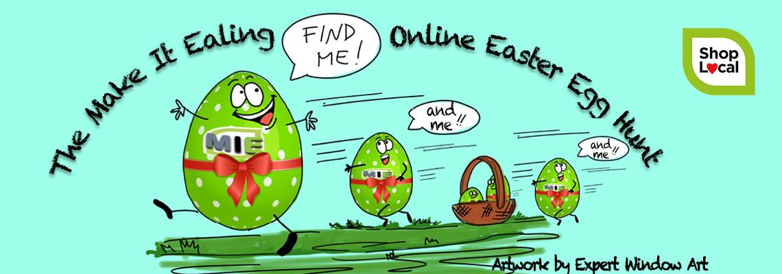 MIE Online Easter Egg Hunt header image